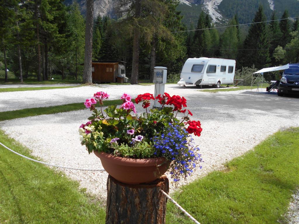 Camper Camping Cortina